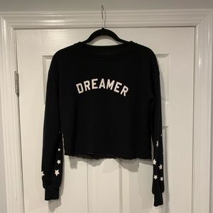 Spiritual Gangster Star Cropped Sweatshirt